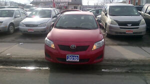 2010 Toyota Corolla CE Sedan..power windors LOADED