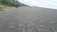 Professional roofer/shingler reroofs and repairs