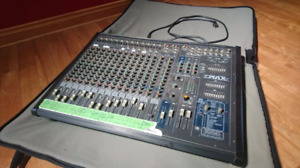 Console amplifier Yorkville power max 16
