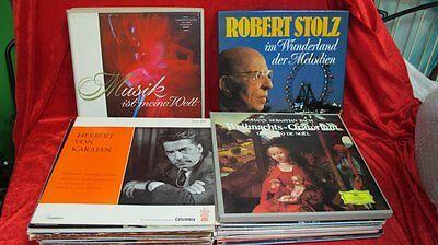 73 LP's Klassik Langspielplatten - Raritäten !!