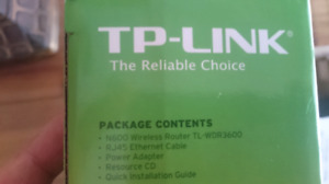 TP-LINK N600 Router - Like New $25