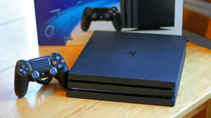 PS4 Pro 1TB Console, Controller, & Four Games!