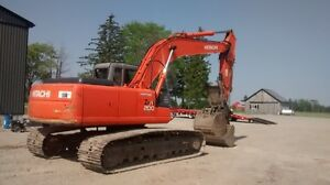2006 Hitachi 200 LC Excavator with hydraulic thumb/pin grabber Stratford Kitchener Area image 5
