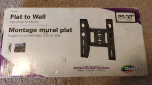 """Flat Panel TV Wall Mount (25 to 32"""" monitor or TV)"""