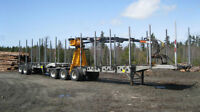 Deloupe Logging B-Trains