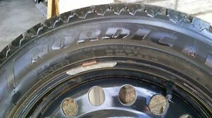 "Goodyear Nordic 17"" tires and rims  225/55R17"
