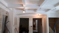 Taping sanding and textured ceilings done at an affordable price