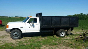 1989 Ford F450 460CI Propane dual fuel. Call to make offer
