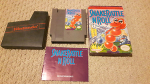Nintendo Nes snake rattle and rol