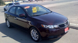 2011 KIA FORTE EX $ 6495 / NEW ENGINE FROM KIA