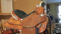 Billy Shaw Barrel Saddle