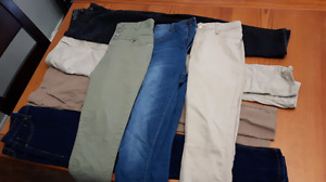 Size 9 Womens pants (7 pairs)