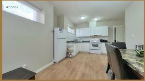 2 bedroom basement suite $1200 june 1st