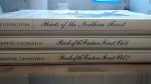Set of 3 books Birds of the Eastern and Northern Forest