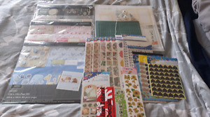 Large scrapbook lot
