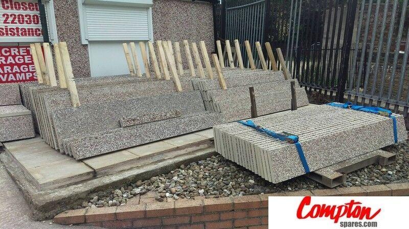 Compton Garage Concrete Panels, Modular Garage Panels