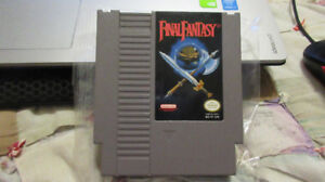 Final Fantasy - NES - WORKING SAVE FILE
