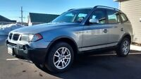 BMW X3 NEW WINTER TIRES & NEW INSPECTION