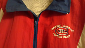 MONTREAL CANADIENS spring jacket (size LARGE)