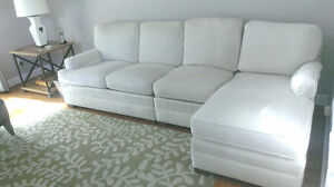LUXE , sectional couch ,