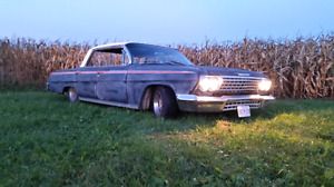 Spare parts for '62 impala/biscayne/bel air