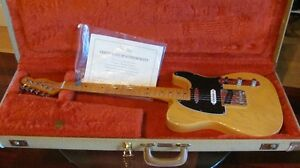 guitar fender tele 1952 ressue 1987