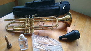 Trumpet. Brand new cleaning kit. Best Offer!