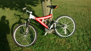 Super cycle xtl 21 DS dual suspension mountain bike