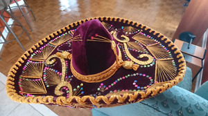 Stylish design Mexican hat