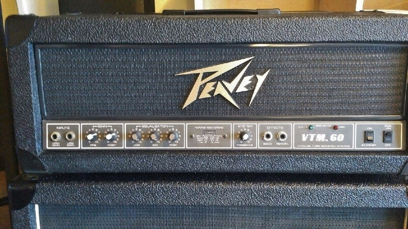 peavey vtm 60 vintage tube amp celestion half stack marshall amps pedals oakville. Black Bedroom Furniture Sets. Home Design Ideas