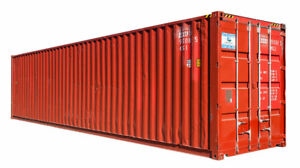 Wanted shipping container