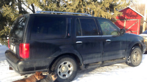 REDUCED! NEEDS ENGINE! Lincoln Navigator