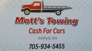 CASH PAID FOR SCRAP CARS AND TRUCKS