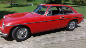 WANTED  MGB GT  72-74