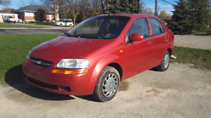 2005 Chevy aveo clean 220k runs good