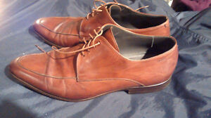 Hugo Boss Light Brown Dress Shoes (says size 9.5, though closer