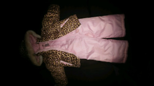 18 month girls snow suit