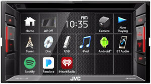 JVC Double DIN Bluetooth In-Dash DVD - NEW MODEL!