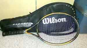 Tennis racket and case