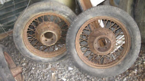 1920 Ford Rims/ 1936 Chev rims