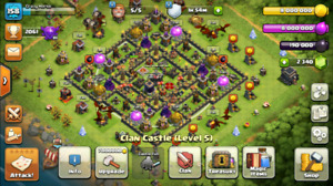 Clash of clans MAXED 9th