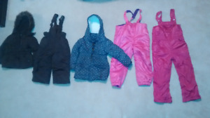 Girls Snow Jackets/Pants