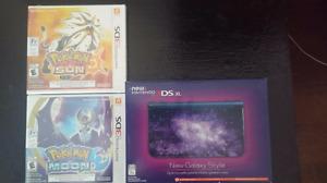 Brand New New 3DS XL Galaxy and Pokemon Sun & Moon