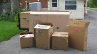 Moving Boxes and Wrapping Paper for Sale for $100
