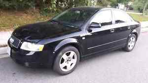 VERY NICE BLACK 2005 AUDI A4 1.8T SEDAN WITH 160KMS! ONLY $2500!