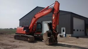 2006 Hitachi 200 LC Excavator with hydraulic thumb/pin grabber Stratford Kitchener Area image 1