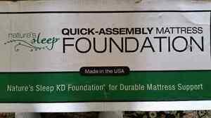 King size Brand new Quick Assemble mattress foundation