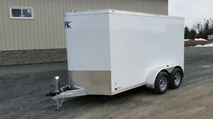 2017 ATC Raven enclosed utility trailer, 6x12+2