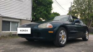 Honda Del Sol and Parts Car
