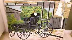 5 old paintings that belong to my grandfather London Ontario image 3